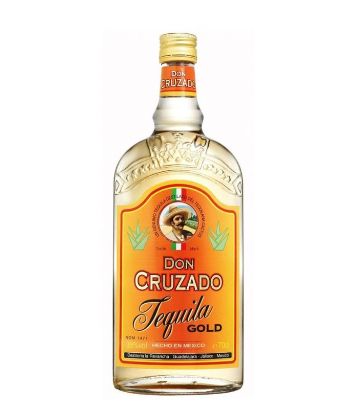 DON CRUZADO TEQUILA GOLD 70CL