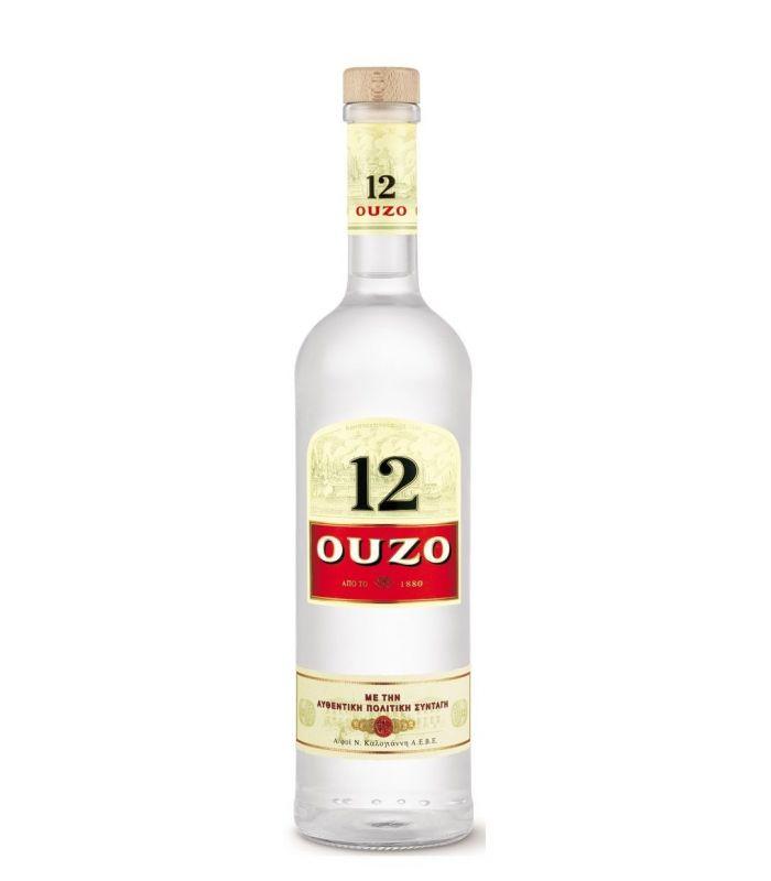 OUZO 12 70CL