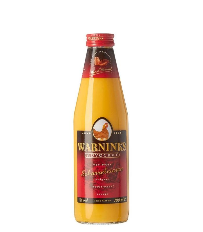 WARNINKS SCHARRELADVOCAAT 70CL