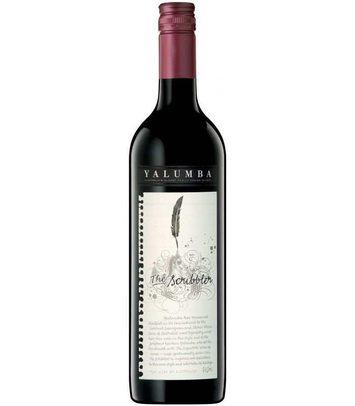 YALUMBA THE SCRIBBLER CAB/SHIRAZ 75CL