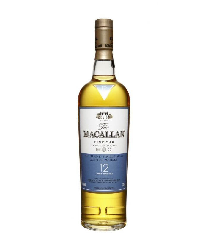The Macallan Fine Oak 12 Years Single Malt