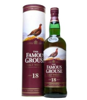 THE FAMOUS GROUSE MALT 18 YEARS 70CL