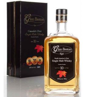GLEN BRETON 10Y CANADIAN MALT 70CL