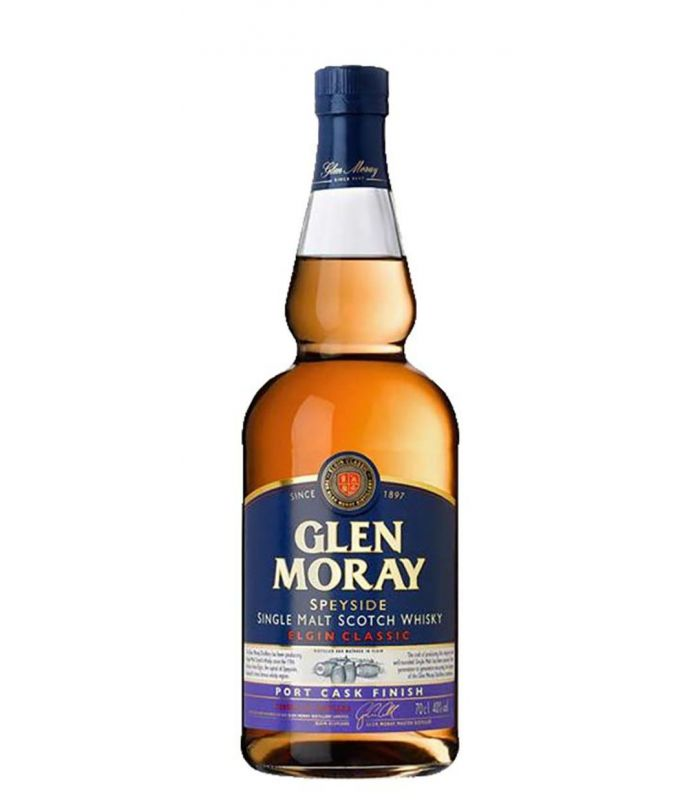 GLEN MORAY PORT CASK FINISH 70CL