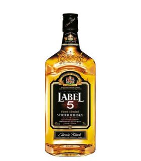 Label 5 Blended Whisky 70cl
