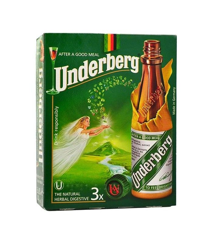 Underberg 3-Pack 3X2cl