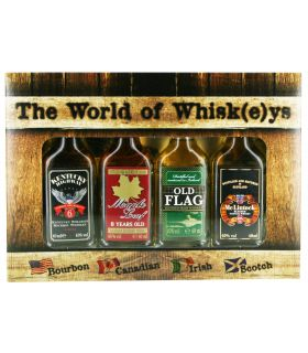 The World of Whisk(e)ys 4X4cl
