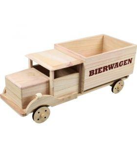 Bierwagen Hout 6 Flesjes