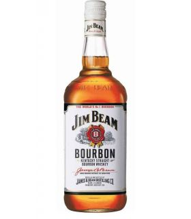Jim Beam Bourbon White Label 100cl