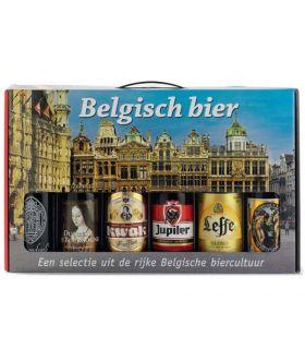 Bierdoos Belgische Bieren 6 Flesjes