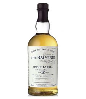 The Balvenie 12 Years Single Barrel First Fill Single Malt 70cl