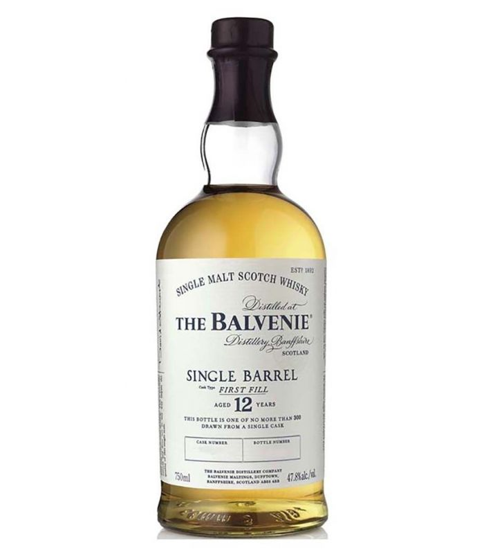BALVENIE 12 YEARS SINGLE BARREL 70CL