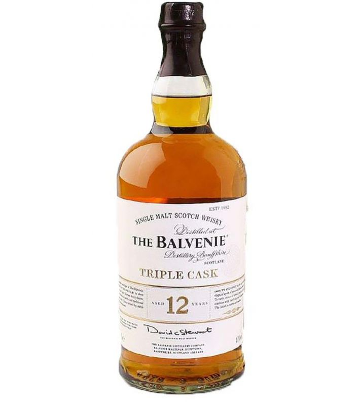 BALVENIE 12 YEARS TRIPLE CASK 100CL