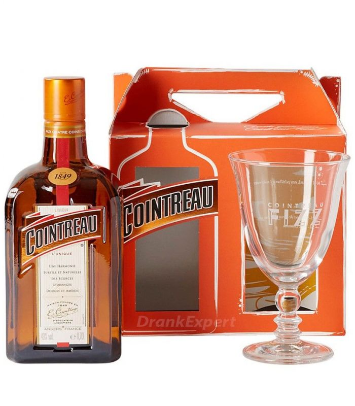 Cointreau Fizz Glas Gift Pack 70cl