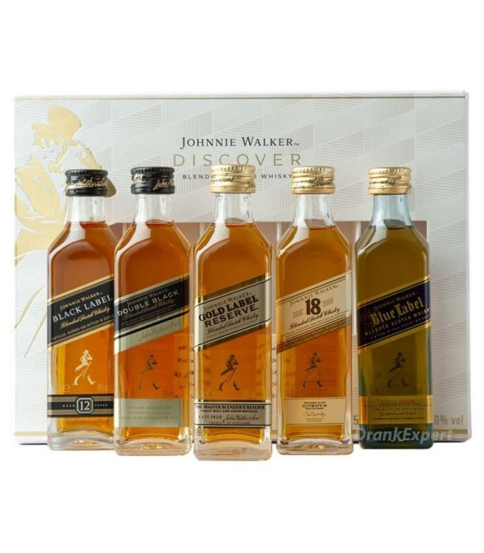Johnnie Walker Discover Pack 5X5cl