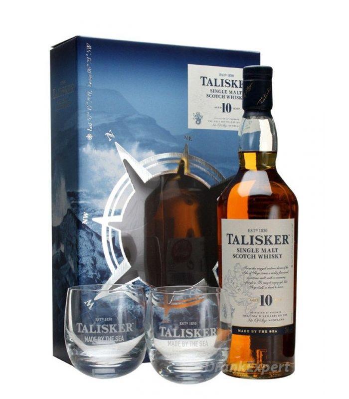 Talisker 10 Years Single Malt Gift Pack 70cl