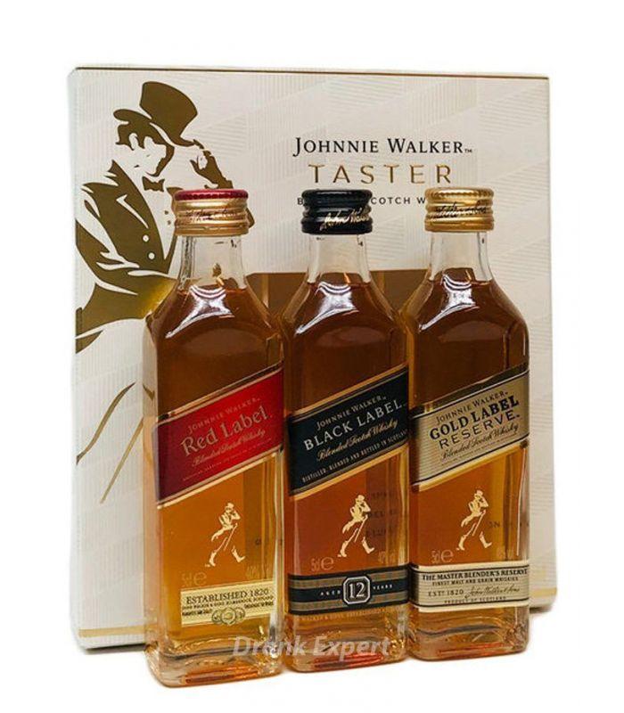 Johnnie Walker Taster Pack 3X5cl