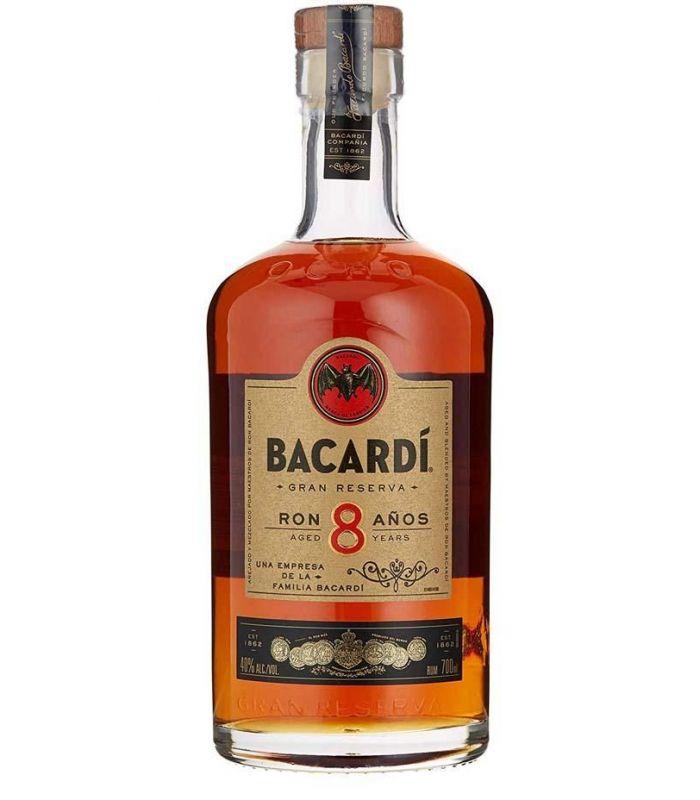 Bacardi Rum 8 Años 100cl