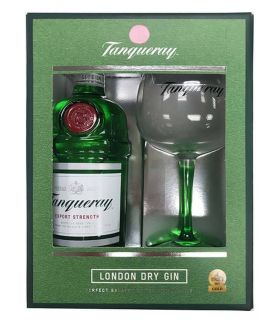 Tanqueray London Dry Gin Gift Pack 70cl