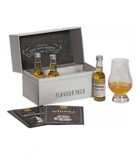 Flavour Pack Whisky Starters 3x4cl.+glas