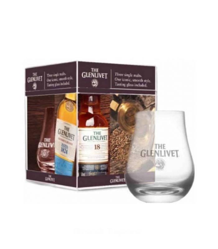 The Glenlivet Tating Set 3X5cl + Glas