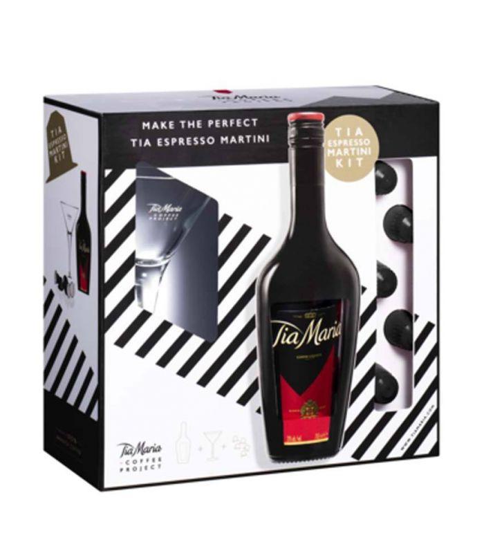 Tia Maria Gift Pack Espresso Martini Kit 70cl