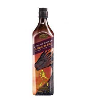 Johnnie Walker Song Of Fire Games Of Thrones 70cl