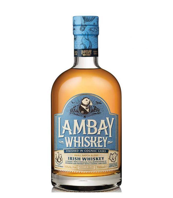 Lambay Small Batch Blended Irish Whisky Cognac Cask Finish 70cl
