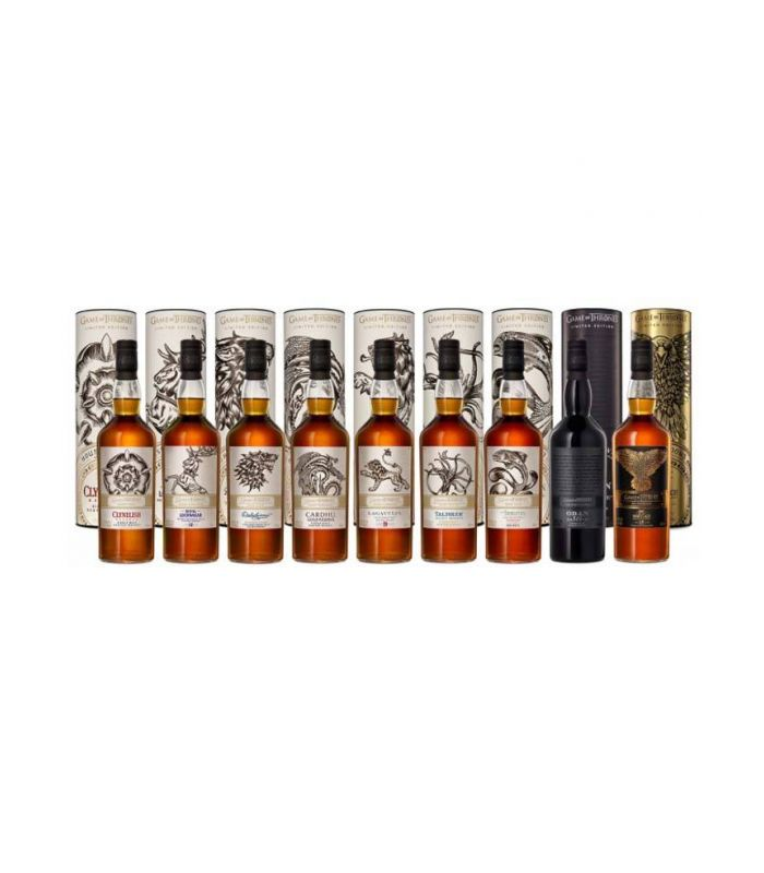 Game Of Thrones Single Malt Full Collection 9X70cl