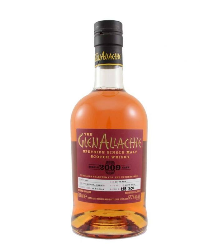 GlenAllachie 10 Years 2009 Madeira Single Cask 70cl