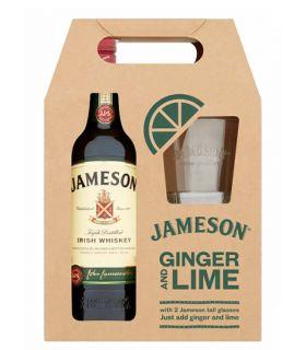 Jameson Gift Kadoverpakking Met Glazen 70cl