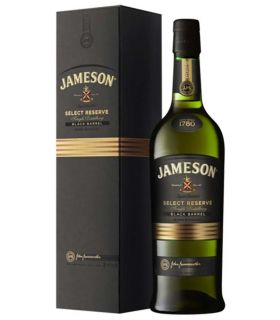 JAMESON IRISH SELECT RESERVE BLACK BARREL 70CL