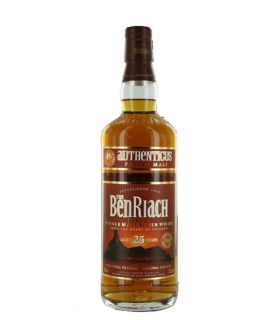 Benriach 25 Years Authenticus Peated Single Malt 70cl