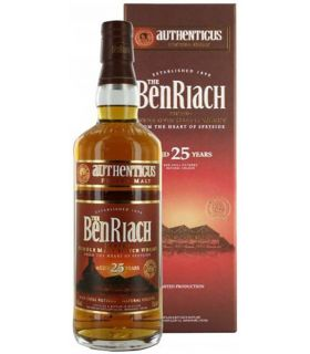 BENRIACH 25 YEARS AUTHENTICUS 70CL