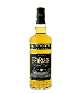 Benriach 10 Years Curiositas Peated Single Malt 70cl