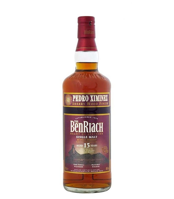 BENRIACH 15 YEARS PX SHERRY WOOD 70CL