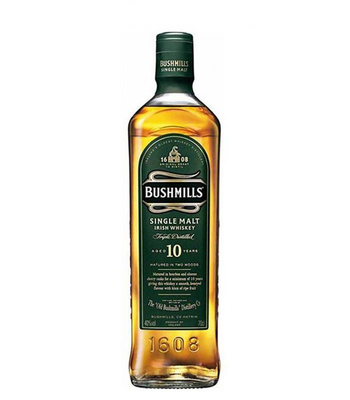 BUSHMILLS 10 YEARS 70CL