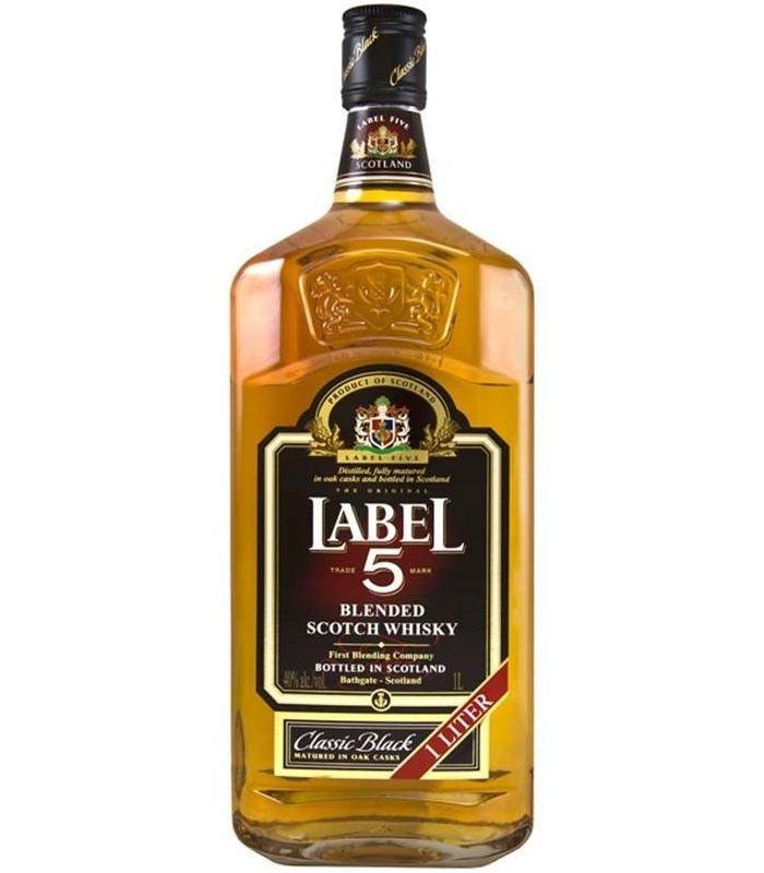 LABEL 5 BLEND WHISKY 100CL