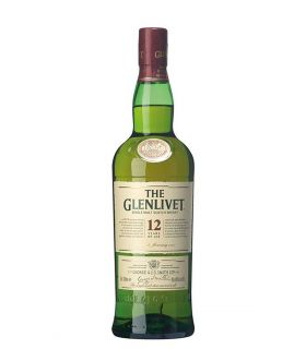 The Glenlivet 12 Years Single Malt 70cl