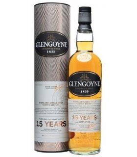 GLENGOYNE 15 YRS SINGLE MALT 70CL