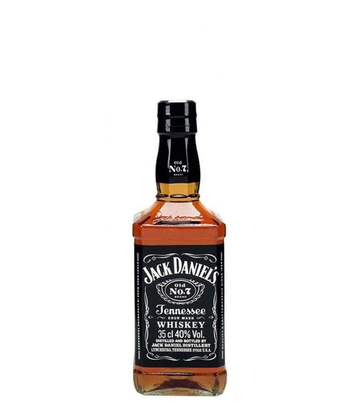 JACK DANIEL'S BLACK LABEL WHISKEY 35CL