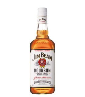 JIM BEAM BOURBON WHITE LABEL 70CL