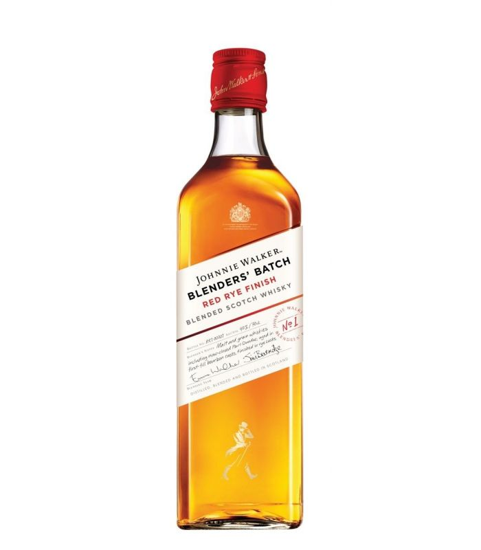JOHNNIE WALKER RED RYE BLENDED 70CL
