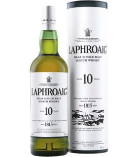 LAPHROAIG 10 YRS ISLAY MALT 70CL