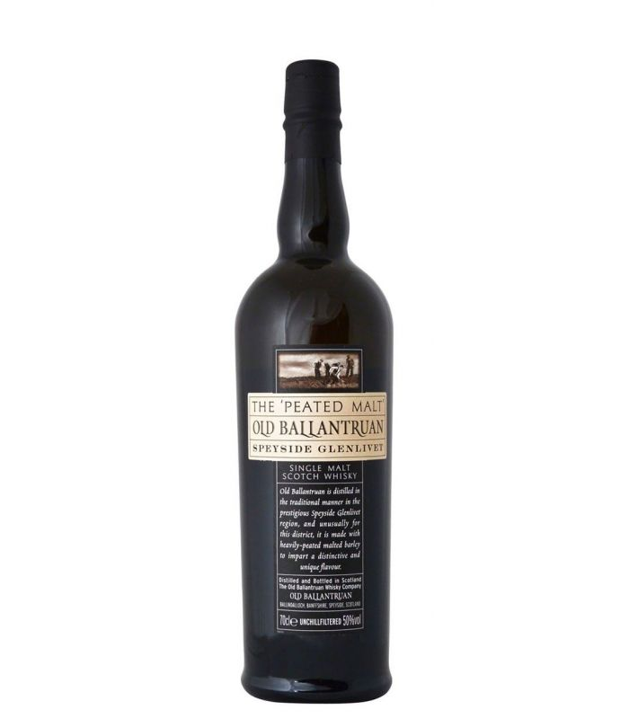 OLD BALLANTRUAN SPEYSIDE PEATED MALT 70C