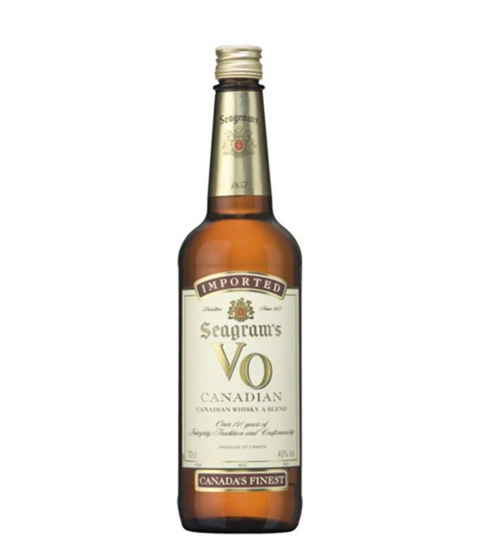 SEAGRAM VO CANADIAN WHISKY 70CL