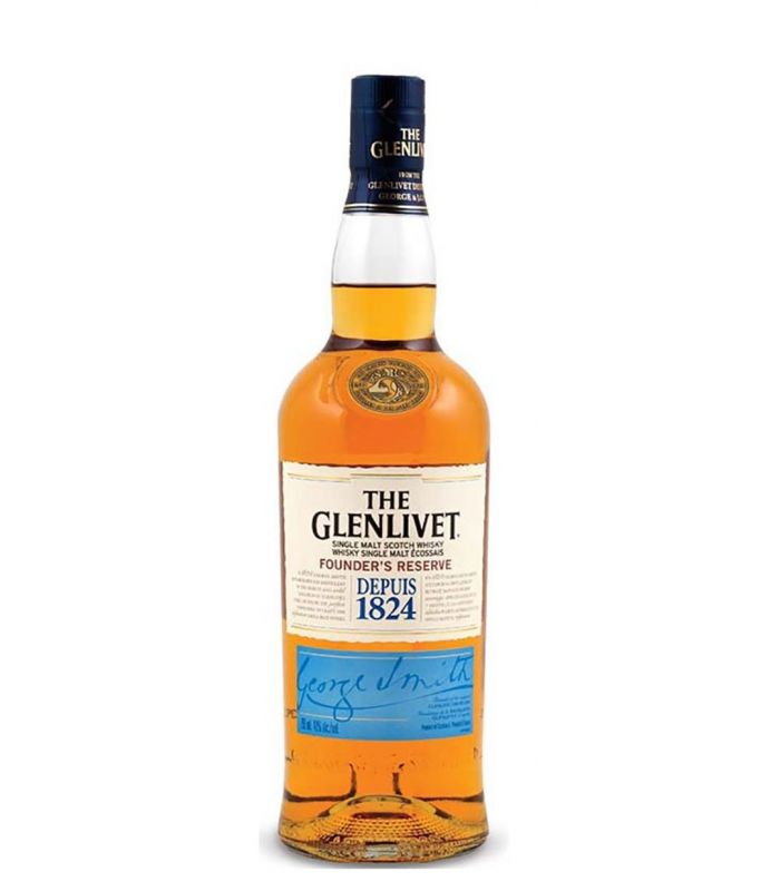 THE GLENLIVET FOUNDER'S RESERVE WHISKY 70CL