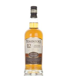 Tomintoul 12 Years Oloroso Sherry Cask Single Malt 70cl