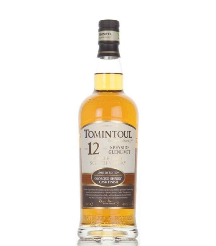 TOMINTOUL 12 YRS OLOROSO SPEYSIDE 70CL