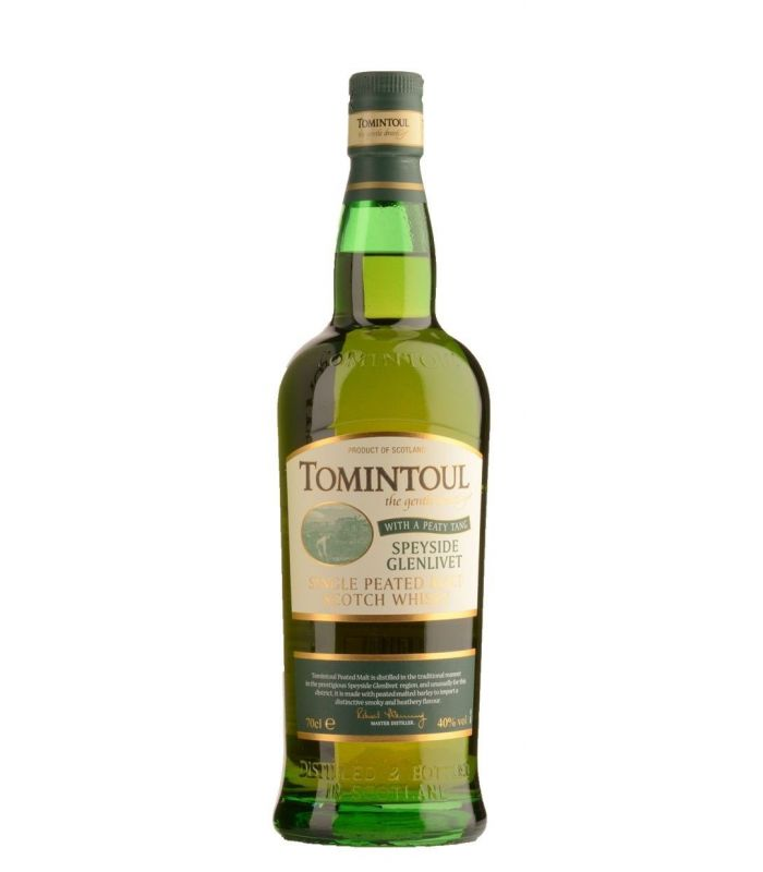 TOMINTOUL PEATY TANG SPEYSIDE 70CL